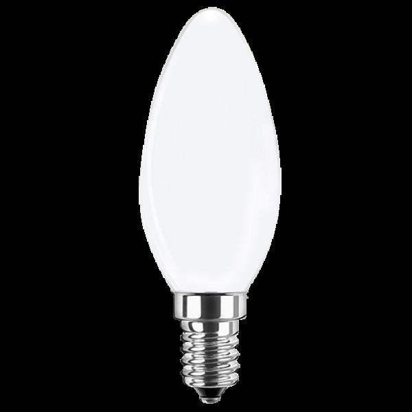 LED Filament Lampe Kerzenform 4 Watt warmweiß E14