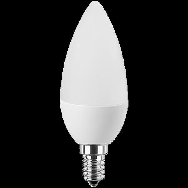 LED Lampe Kerzenform 8 Watt warmweiß E14