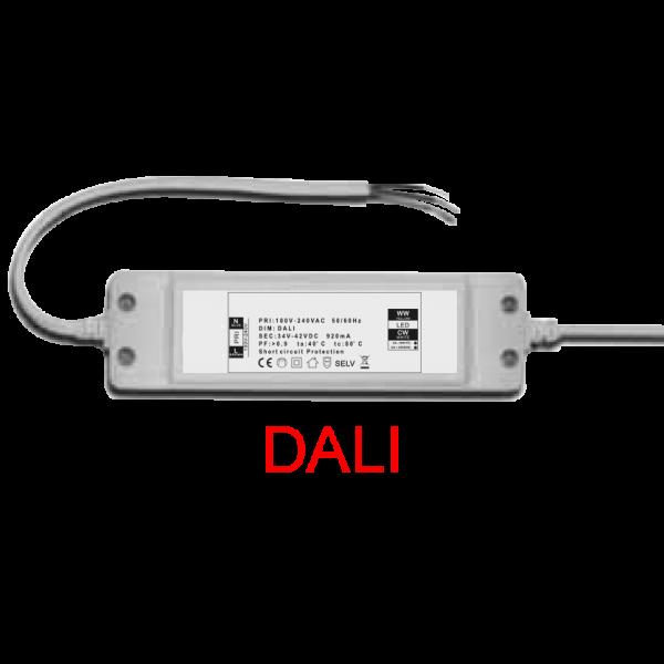 LED Netzteil DALI dimmbar zur Ansteuerung des LED Panels 40 Watt