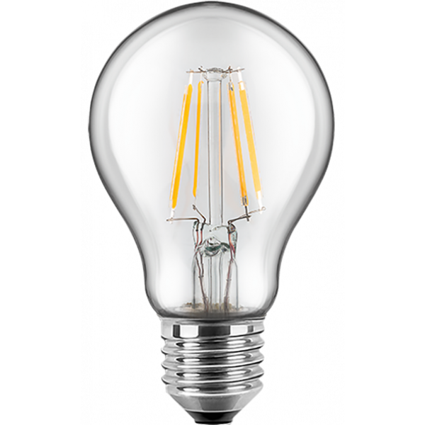 LED Filament Glühfaden Birne 5 Watt warmweiß E27