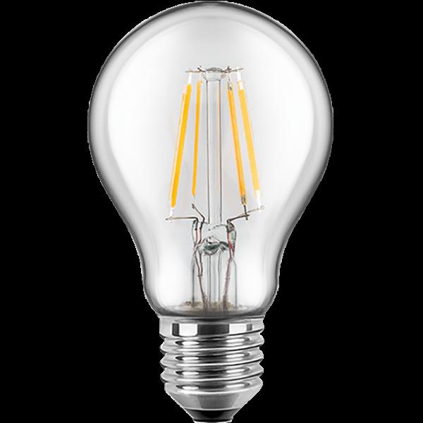 LED Filament Lampe Birnenform 7 Watt warmweiß dimmbar E27