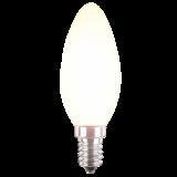 LED Filament Lampe Kerzenform 4,5 Watt kaltweiß E14