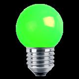 LED Deko MiniGlobe 1 Watt grün E27