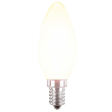 LED Filament Glühfaden Kerze 4 Watt warmweiß E14