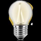 LED Filament Glühfaden Tropfen 2 Watt warmweiß E27