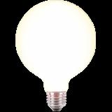 LED Filament Globelampe 125mm 4 Watt warmweiß E27