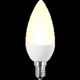 LED Lampe Kerzenform 4 Watt warmweiß E14