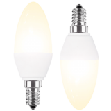 LED Lampe Kerzenform 3 Watt warmweiß Promotion Doppelpack E14