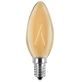 LED Filament Vintage Kerze 2 Watt extra warmweiß E14
