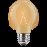 LED Filament Vintage Lampe Birnenform 4 Watt extra warmweiß E27