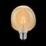 LED Filament Vintage Globelampe 95mm 4 Watt extra warmweiß E27