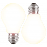 LED Filament Glühfaden Birne 7 Watt warmweiß Promotion Doppelpack E27