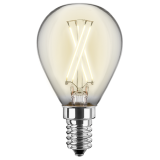 LED Filament Lampe Tropfenform 4,5 Watt warmweiß E14