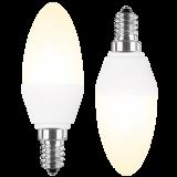 LED Lampe Kerzenform 5 Watt warmweiß Promotion Doppelpack E14