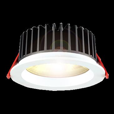 LED Downlight 12 Watt warmweiß COB