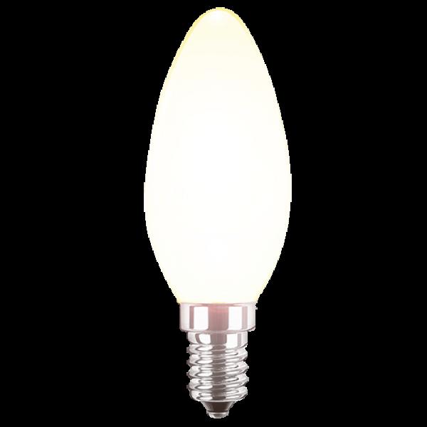 LED Filament Lampe Kerzenform 4,5 Watt normalweiß E14