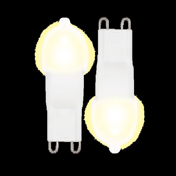 LED Stiftsockellampe 3 Watt WW weiß Doppelpack