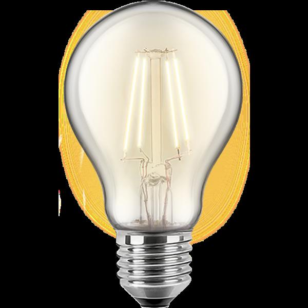 LED Filament Glühfaden Birne 7 Watt warmweiß dimmbar E27