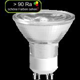 LED Strahler 5 Watt warmweiß GU10 > 90 Ra