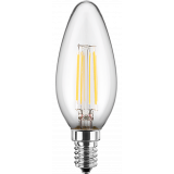 LED Filament Glühfaden Kerze 5 Watt warmweiß dimmbar E14