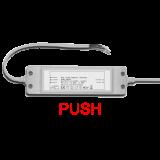 LED Netzteil Push dimmbar zur Ansteuerung des LED Panels 36 Watt