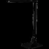 LED Schreibtischleuchte 11 Watt, mit Touchfeld und 5 Helligkeitsstufen, 4 Lichtmodi, Timer-Funktion, USB-Port, schwarz