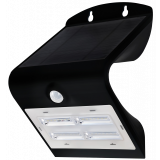 LED Solarleuchte 3,2W WW schwarz