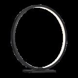 LED Tischleuchte 6,5 Watt warmweiß, rund, schwarz
