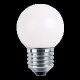 LED Deko MiniGlobe 1 Watt weiß E27