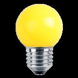 LED Deko MiniGlobe 1 Watt gelb E27