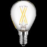LED Filament Glühfaden Tropfen 4 Watt warmweiß E14