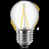 LED Filament Lampe Tropfenform 2 Watt warmweiß E27