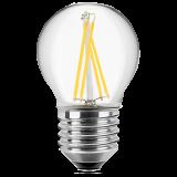 LED Filament Lampe Tropfenform 4 Watt warmweiß E27