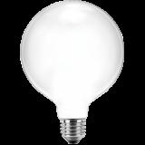 LED Filament Globelampe 125mm 7 Watt warmweiß E27