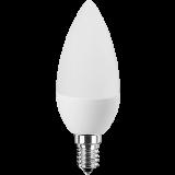 LED Lampe Kerzenform 3 Watt warmweiß E14