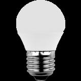 LED MiniGlobe 3 Watt warmweiß E27