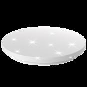 LED Wand- und Deckenleuchte Aina-L rund Sternenhimmel 24W 1600 lm Switch CCT