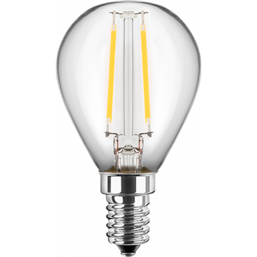 Led Filament Gluhfaden Tropfen 1 Watt Warmweiss E14 Hwh Electronic Com