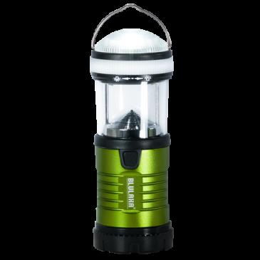 LED Campinglampe 3 Watt, Leuchtweite 15m, 2 Schaltfunktionen, Signal-Blinkmodus, auch als Taschenlampe nutzbar