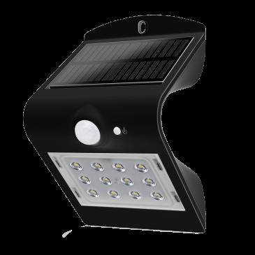 LED Solarleuchte 1,5W WW schwarz