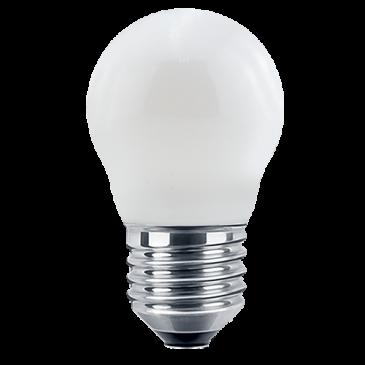 LED Filament Lampe MiniGlobe 4,5 Watt warmweiß Opal E27