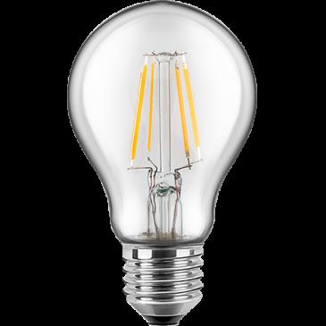 LED Filament Lampe Birnenform 8,5 Watt warmweiß E27